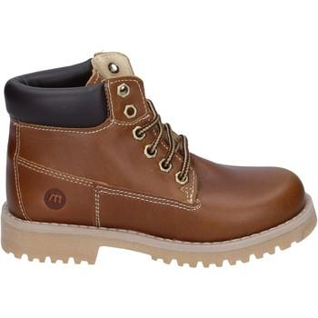 Schoenen Jongens Laarzen Melania BR388 Marron
