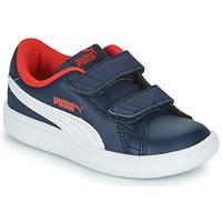 Schoenen Jongens Lage sneakers Puma SMASH Marine