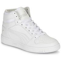 Schoenen Kinderen Hoge sneakers Puma REBOUND LAYUP B Wit