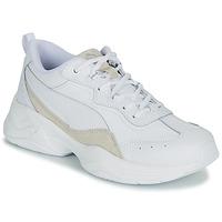 Schoenen Dames Lage sneakers Puma WNS CILIA LUX B Wit