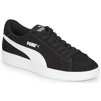 Schoenen Jongens Lage sneakers Puma Puma Smash v2 SD Jr Zwart