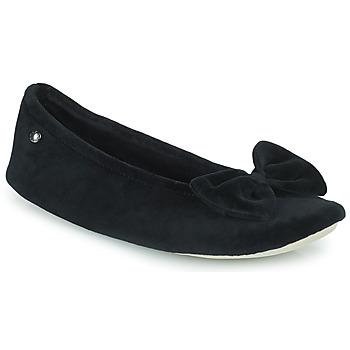 Schoenen Dames Sloffen Isotoner 95810 Zwart
