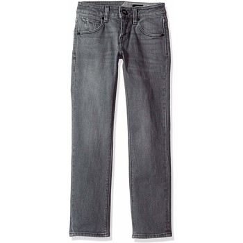 Textiel Kinderen Jeans Volcom Vorta By Denim Power Grey