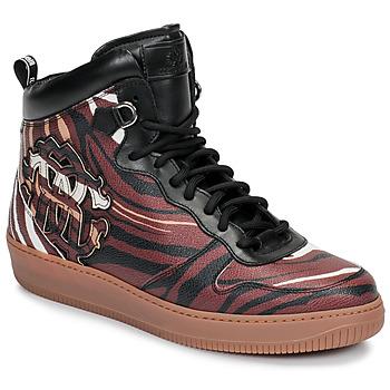 Schoenen Heren Hoge sneakers Roberto Cavalli 8343 Multicolour