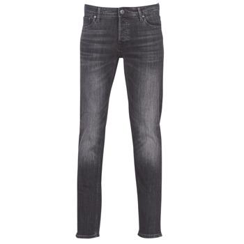 Textiel Heren Skinny jeans Jack & Jones JJIGLENN Zwart
