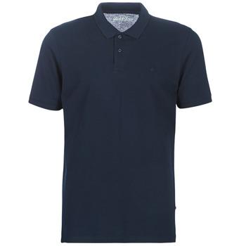 Textiel Heren Polo's korte mouwen Jack & Jones JJEBASIC Marine
