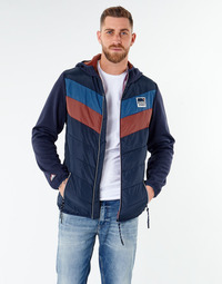 Textiel Heren Wind jackets Jack & Jones JORJASPER Marine / Rood