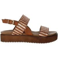 Schoenen Dames Sandalen / Open schoenen Donna Style 19-537 Brown leather