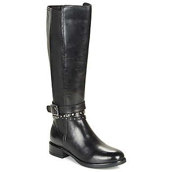 Schoenen Dames Hoge laarzen André NUAGE Zwart