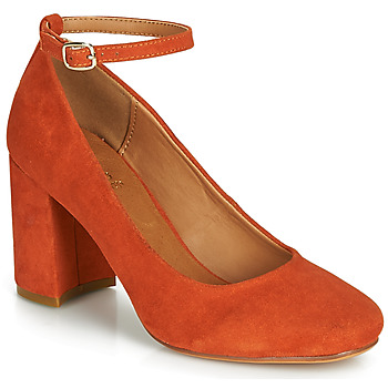 Schoenen Dames pumps André LAURIA Orange