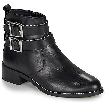 Schoenen Dames Laarzen André LOTUS Zwart