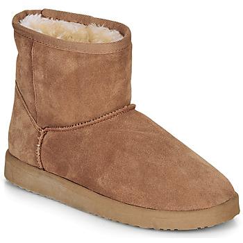 Schoenen Dames Laarzen André TOUSNOW  camel