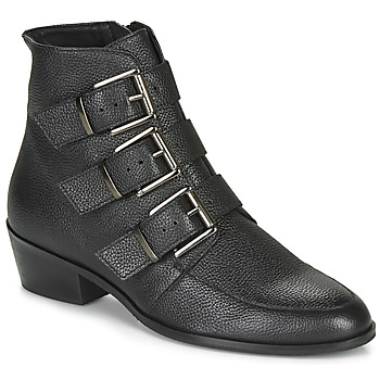 Schoenen Dames Laarzen André ERNA Zwart