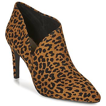 Schoenen Dames Enkellaarzen André LYNA Leopard