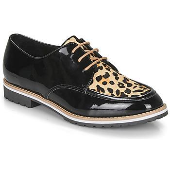 Schoenen Dames Derby André CHARLELIE Leopard