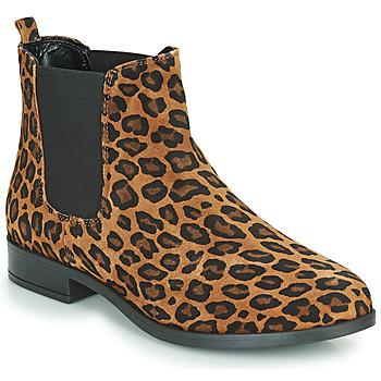 Schoenen Dames Laarzen André ELEGANTE Leopard