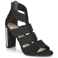 Schoenen Dames Sandalen / Open schoenen André LA  DETERMINEE Zwart