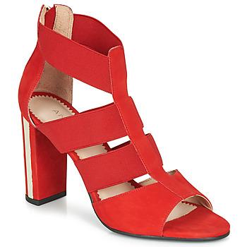 Schoenen Dames Sandalen / Open schoenen André LA DETERMINEE Rood