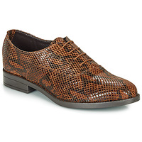Schoenen Dames Derby André MOBI Brown