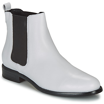 Schoenen Dames Laarzen André CARAMEL Wit