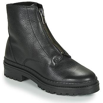 Schoenen Dames Laarzen André NAIS Zwart