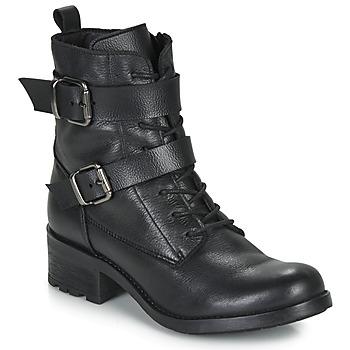 Schoenen Dames Laarzen André NIMA Zwart