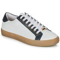 Schoenen Dames Lage sneakers André BERKELEY Wit / Print