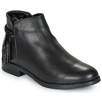 Schoenen Dames Laarzen André MILOU Zwart