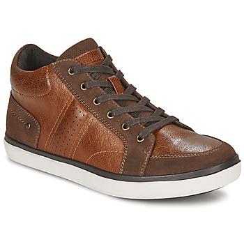 Schoenen Heren Hoge sneakers André MOMBASSA Brown