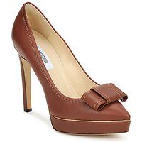 Schoenen Dames pumps Moschino MA1009 Tobacco