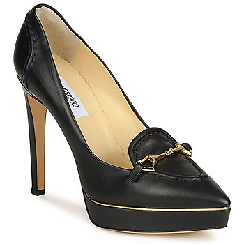 Schoenen Dames pumps Moschino MA1003 Nero