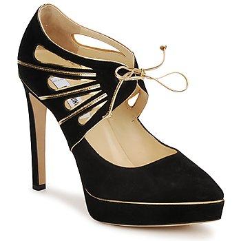 Schoenen Dames pumps Moschino MA1004 Nero-goud