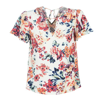 Textiel Dames Tops / Blousjes Casual Attitude LAURIANA Wit / Multikleuren