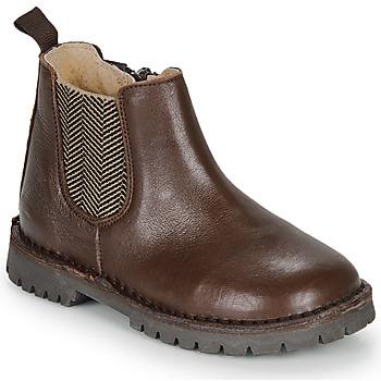 Schoenen Jongens Laarzen André XAVIER Brown
