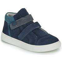 Schoenen Jongens Lage sneakers André UBUD Marine