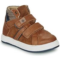 Schoenen Jongens Hoge sneakers André TIMOTHE Brown
