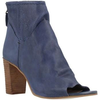 Schoenen Dames Enkellaarzen Elvio Zanon B2511X Blauw