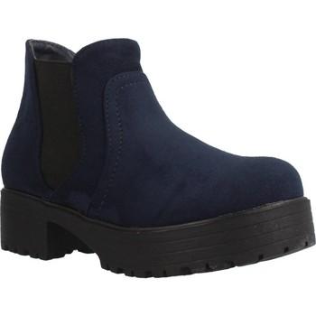 Schoenen Meisjes Laarzen Different 4216 Blauw