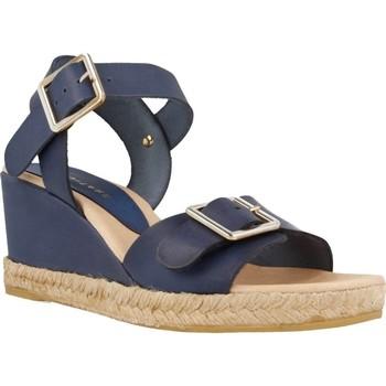 Schoenen Dames Espadrilles Equitare JONES18 Blauw