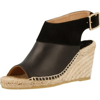Schoenen Dames Espadrilles Equitare JONES26 Zwart