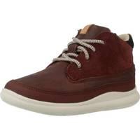 Schoenen Jongens Hoge sneakers Clarks CLOUD AIR FST Rood