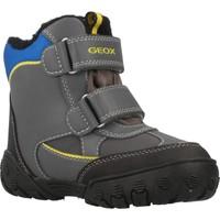 Schoenen Jongens Snowboots Geox B GULP B BOY ABX Grijs