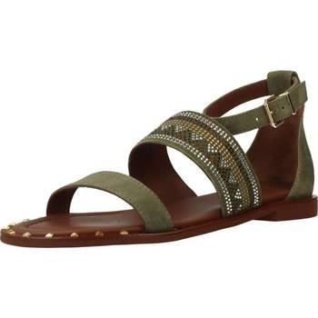 Schoenen Dames Sandalen / Open schoenen Alpe 3747 12 Groen