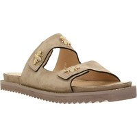 Schoenen Dames Leren slippers Elvio Zanon H0501P Bruin