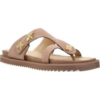Schoenen Dames Slippers Elvio Zanon H0502P Bruin