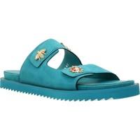 Schoenen Dames Sandalen / Open schoenen Elvio Zanon H0503P Blauw