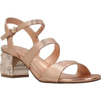Schoenen Dames Sandalen / Open schoenen Elvio Zanon H5201P Bruin