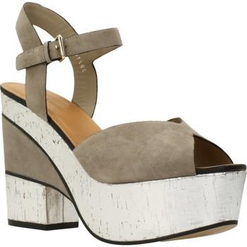 Schoenen Dames Sandalen / Open schoenen Elvio Zanon H5701P Bruin