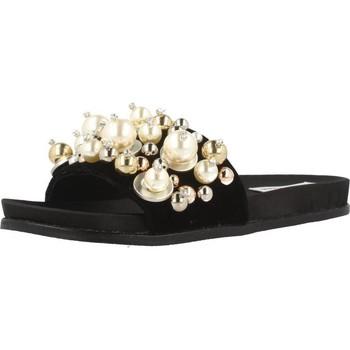 Schoenen Dames Leren slippers Steve Madden DELICATE Zwart