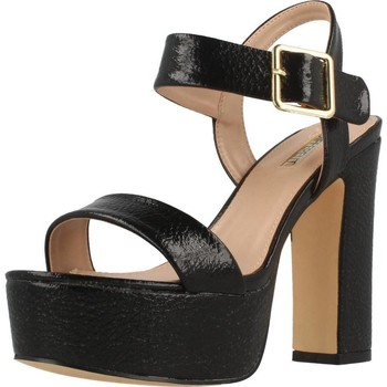 Schoenen Dames Sandalen / Open schoenen Be Different Be Yellow ROSELLA Zwart